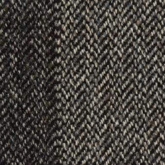 ウール&アクリル混×ミックス(チャコールグレー&チャコール)×ツイード サムネイル1