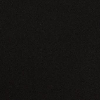 コットン&ポリウレタン×無地(ブラック)×フランネル・ストレッチ