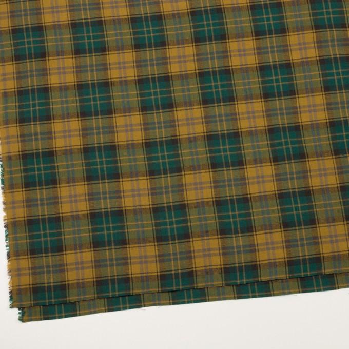 コットン×チェック(バルビゾン&オーカー)×ヘリンボーン イメージ2