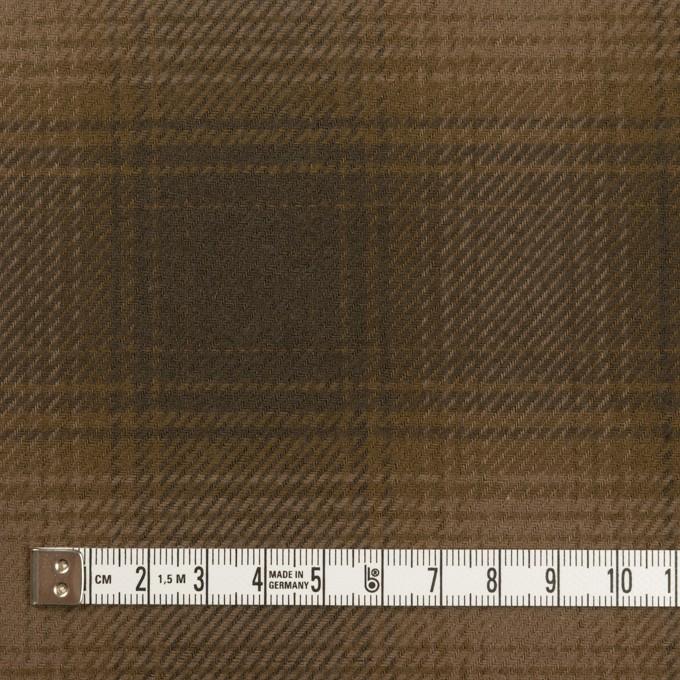 コットン×チェック(ブラウン)×フランネル イメージ4