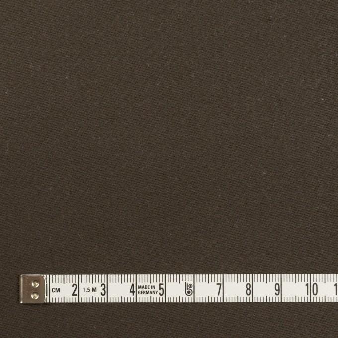 コットン×無地(ダークブラウン)×モールスキン_全3色 イメージ4