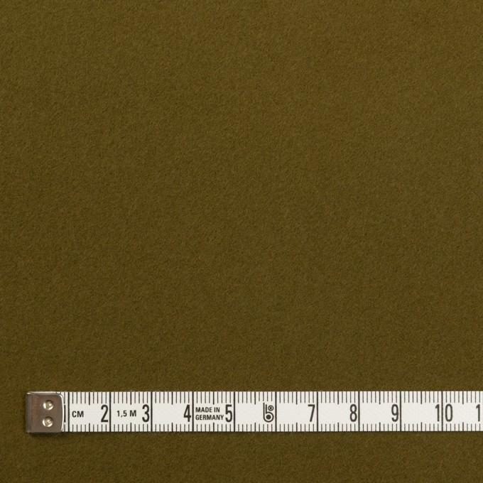 コットン×無地(カーキグリーン)×フランネル イメージ4