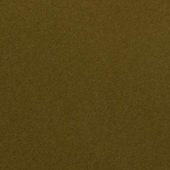 コットン×無地(カーキグリーン)×フランネル