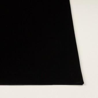 ポリエステル×無地(ブラック)×ベロアニット サムネイル3