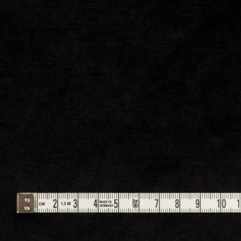 ポリエステル×無地(ブラック)×ベロアニット サムネイル4