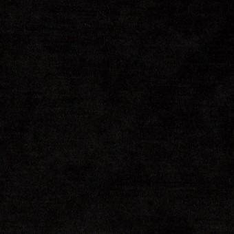 ポリエステル×無地(ブラック)×ベロアニット サムネイル1