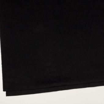 アンゴラ&ウール×無地(ブラック)×ビーバー サムネイル2