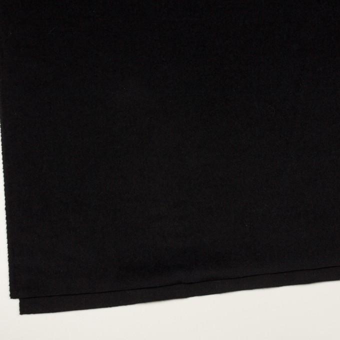 アンゴラ&ウール×無地(ブラック)×ビーバー イメージ2