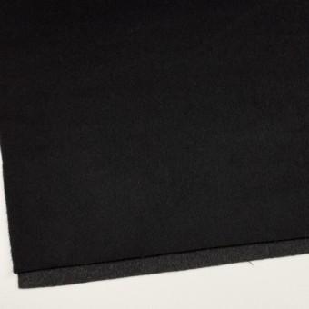 ウール&カシミア×無地(ブラック&チャコールグレー)×ビーバー&フラノ(Wフェイス) サムネイル2