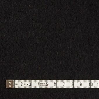 ウール&カシミア×無地(ブラック&チャコールグレー)×ビーバー&フラノ(Wフェイス) サムネイル4