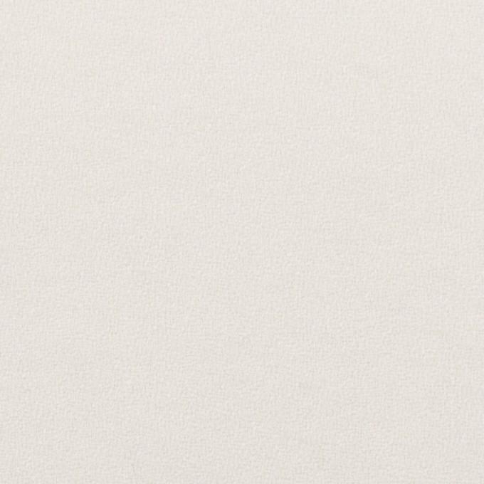 ウール×無地(パールホワイト)×ジョーゼット イメージ1