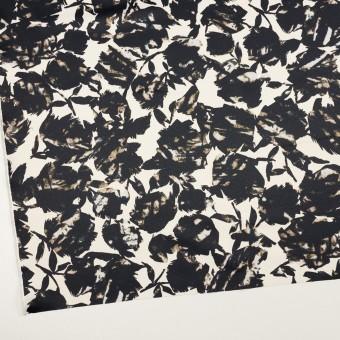 ポリエステル×幾何学模様(キナリ&ブラック)×サテン サムネイル2