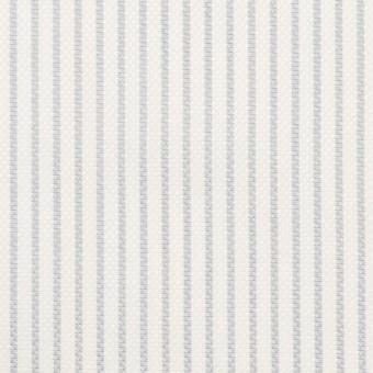 コットン×ストライプ(ブルーグレー)×斜子織 サムネイル1