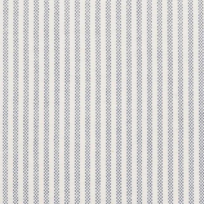 コットン×ストライプ(ブルー)×オックスフォード_全3色 イメージ1