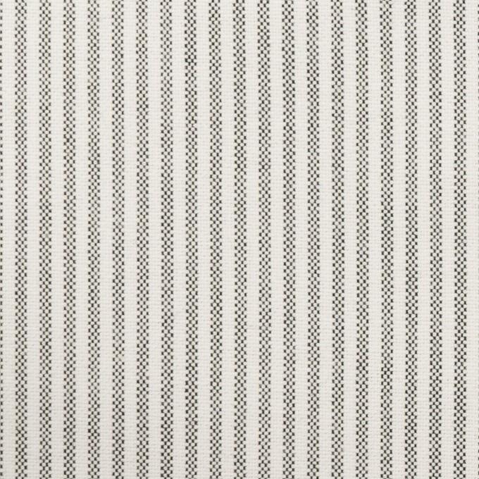 コットン×ストライプ(ブラック)×オックスフォード_全3色 イメージ1