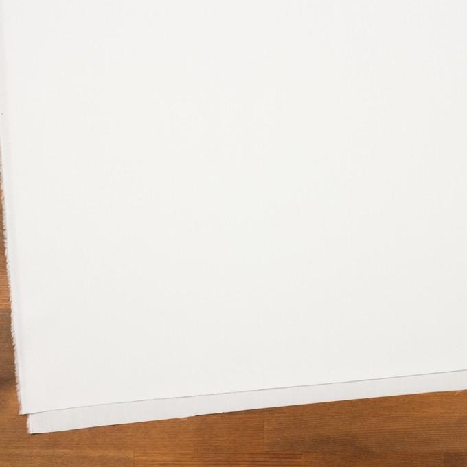 コットン×無地(ホワイト)×サージ_全7色_イタリア製 イメージ2