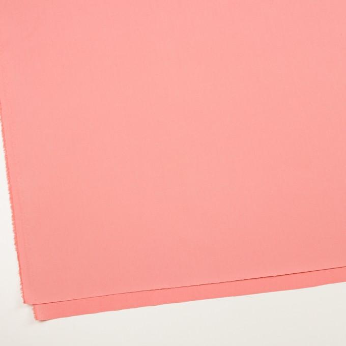 コットン×無地(コーラルピンク)×サージ_全7色_イタリア製 イメージ2