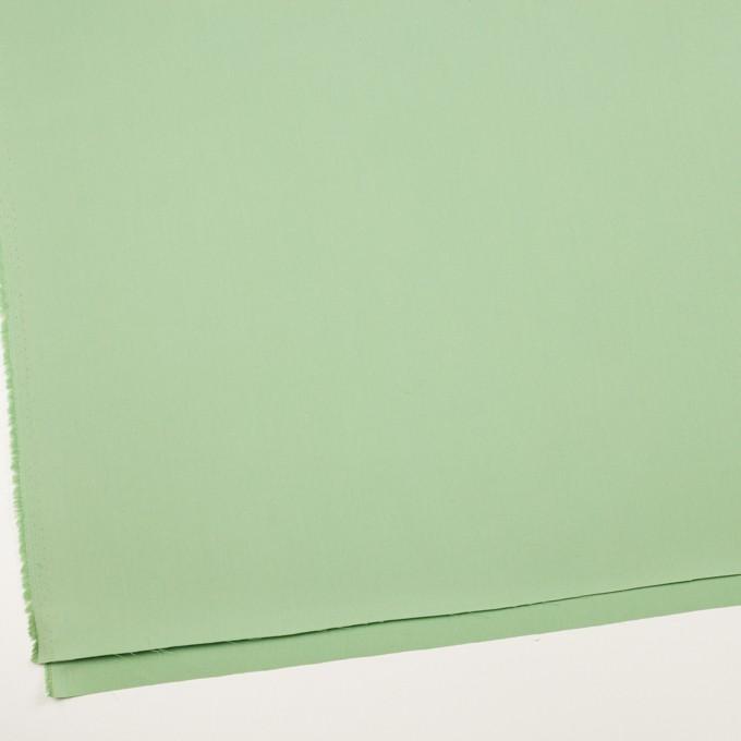 コットン×無地(フレッシュグリーン)×サージ_全7色_イタリア製 イメージ2