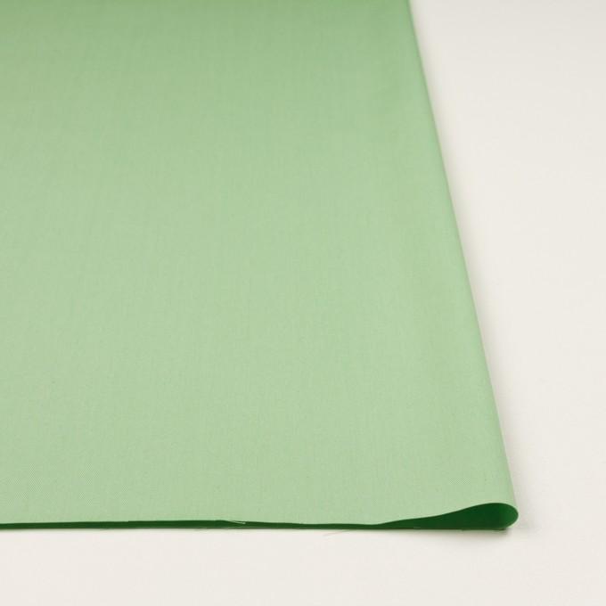 コットン×無地(フレッシュグリーン)×サージ_全7色_イタリア製 イメージ3