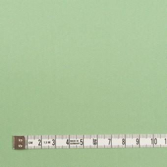 コットン×無地(フレッシュグリーン)×サージ_全7色_イタリア製 サムネイル4
