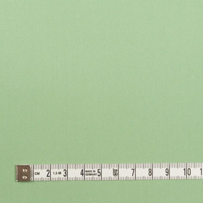 コットン×無地(フレッシュグリーン)×サージ_全7色_イタリア製 イメージ4