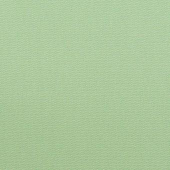 コットン×無地(フレッシュグリーン)×サージ_全7色_イタリア製