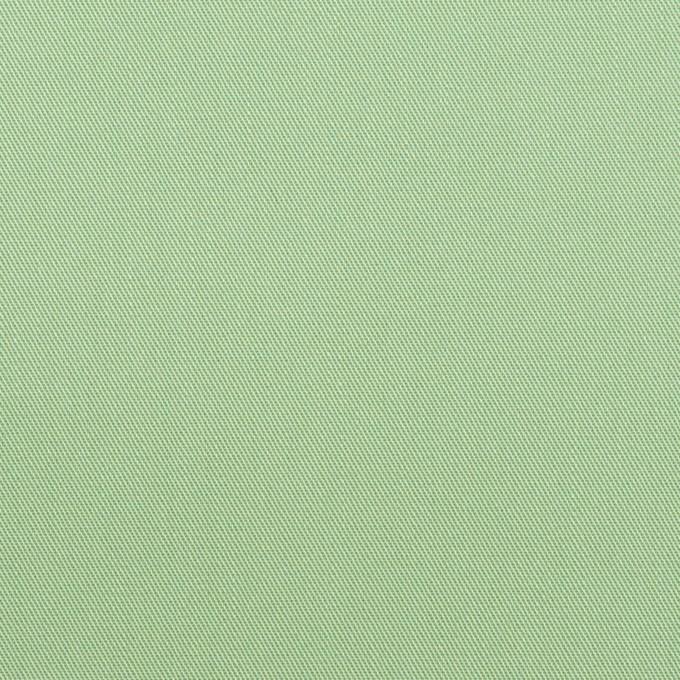 コットン×無地(フレッシュグリーン)×サージ_全7色_イタリア製 イメージ1