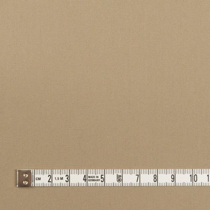 コットン×無地(カーキベージュ)×サージ_全7色_イタリア製 イメージ4