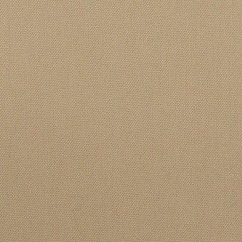コットン×無地(カーキベージュ)×サージ_全7色_イタリア製 サムネイル1