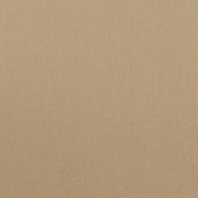 コットン×無地(カーキベージュ)×サージ_全7色_イタリア製 イメージ1