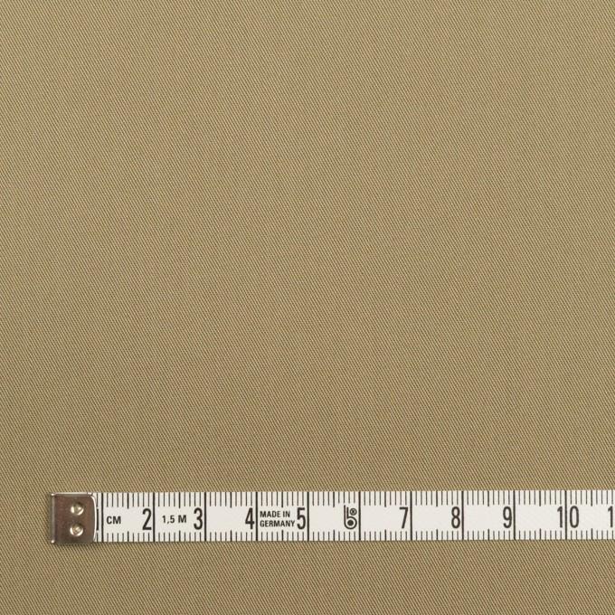 コットン×無地(カーキ)×サージ_全7色_イタリア製 イメージ4