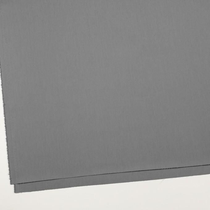 コットン×無地(スチールグレー)×サージ_全7色_イタリア製 イメージ2