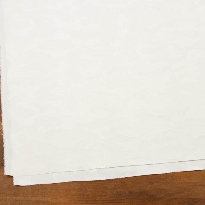 コットン&ポリウレタン×迷彩(オフホワイト)×ジャガード・ストレッチ イメージ2