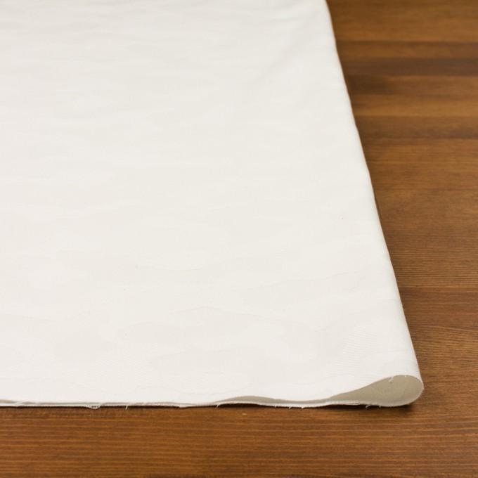 コットン&ポリウレタン×迷彩(オフホワイト)×ジャガード・ストレッチ イメージ3