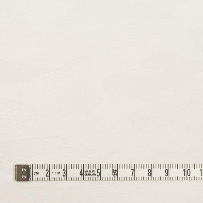 コットン&ポリウレタン×迷彩(オフホワイト)×ジャガード・ストレッチ イメージ4