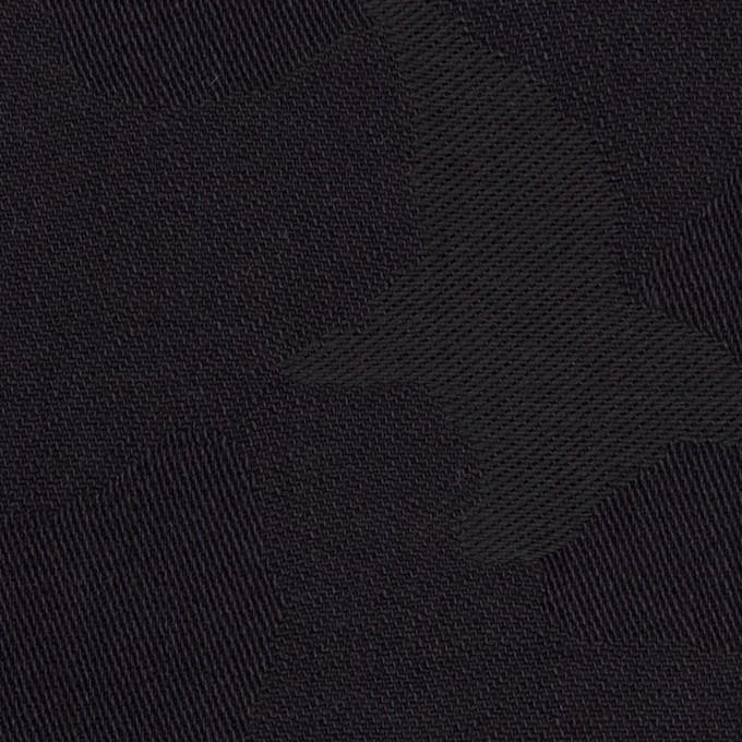 コットン×迷彩(ダークネイビー&モスグレー)×ジャガード イメージ1