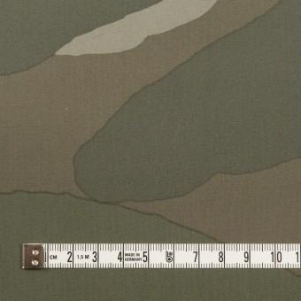 コットン×幾何学模様(カーキグリーン)×ブロード サムネイル4