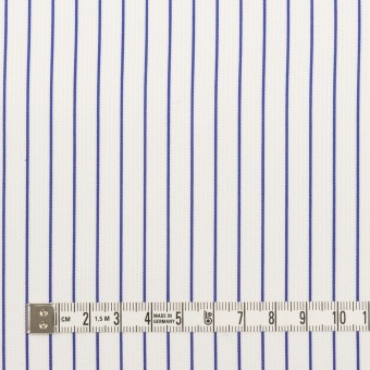コットン×ストライプ(ブルー)×ジャガード サムネイル4