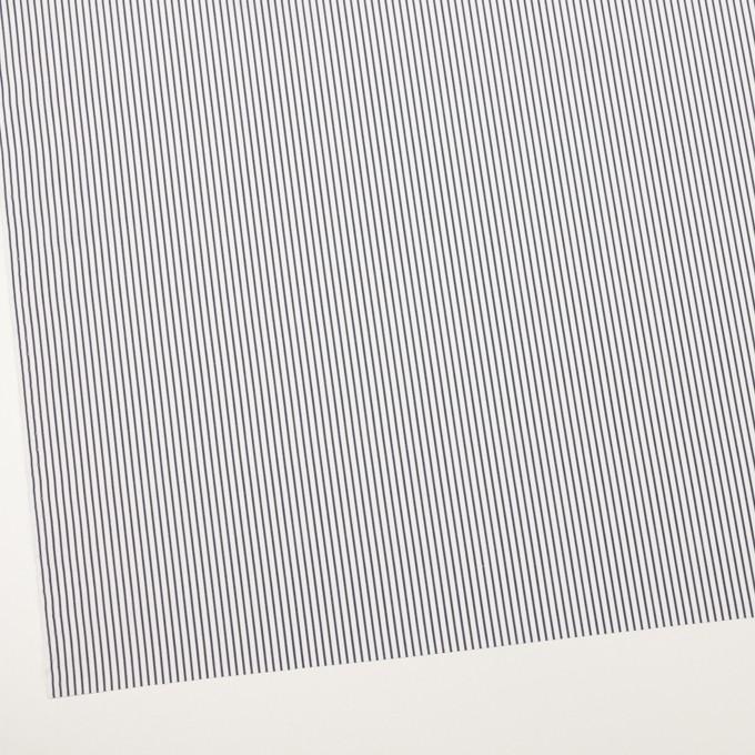 コットン×ストライプ(ダークネイビー)×ブロード_全2色 イメージ2