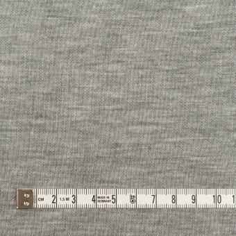 コットン&モダール×無地(シルバーグレー&チャコールグレー)×スムースニット(Wフェイス) サムネイル4