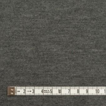 コットン&モダール×無地(シルバーグレー&チャコールグレー)×スムースニット(Wフェイス) サムネイル6
