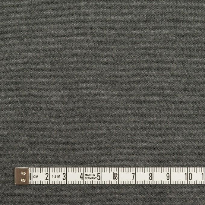 コットン&モダール×無地(シルバーグレー&チャコールグレー)×スムースニット(Wフェイス) イメージ6