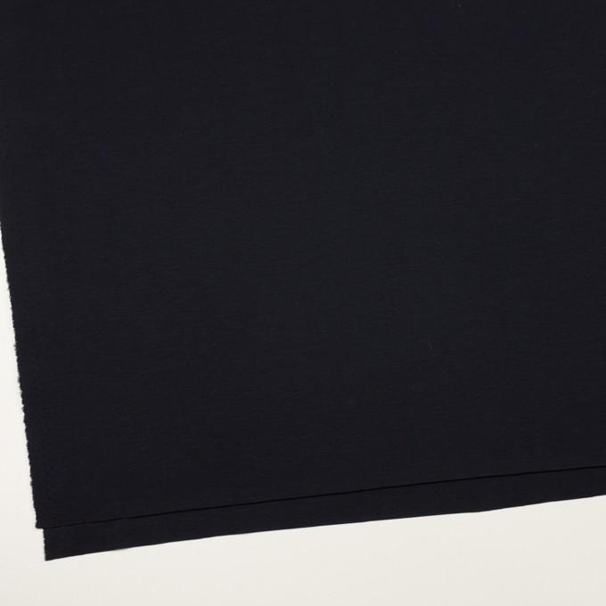 コットン&モダール×無地(ダークネイビー)×スムースニット イメージ2