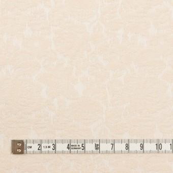 コットン&ポリウレタン×フラワー(エクリュ)×ジャガード・ストレッチ_全3色 サムネイル4