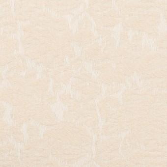 コットン&ポリウレタン×フラワー(エクリュ)×ジャガード・ストレッチ_全3色 サムネイル1