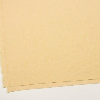 コットン&ポリウレタン×フラワー(カスタード)×ジャガード・ストレッチ_全3色 サムネイル2