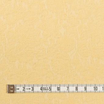 コットン&ポリウレタン×フラワー(カスタード)×ジャガード・ストレッチ_全3色 サムネイル4