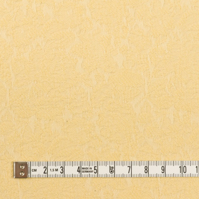 コットン&ポリウレタン×フラワー(カスタード)×ジャガード・ストレッチ_全3色 イメージ4