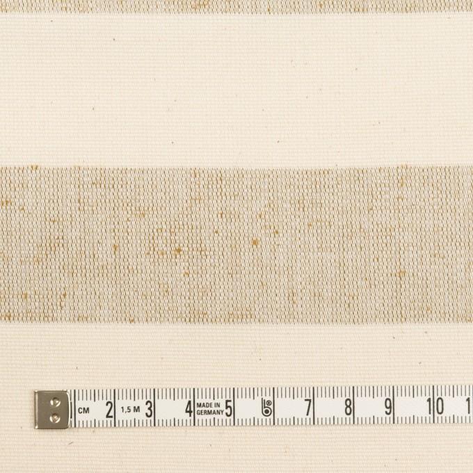 コットン×ボーダー(キナリ&モカ)×キャンバス イメージ4