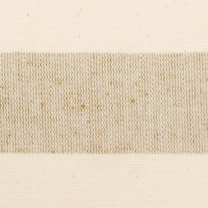 コットン×ボーダー(キナリ&モカ)×キャンバス イメージ1